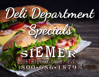 Deli Department Specials